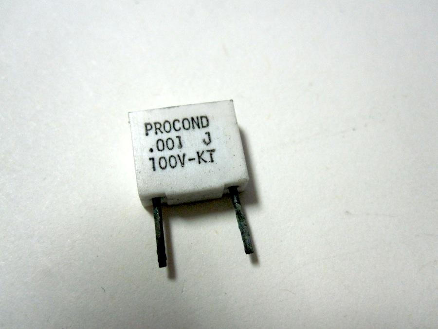 1NPF100V 5% P7.5 X10 PEZZI VERTICALI