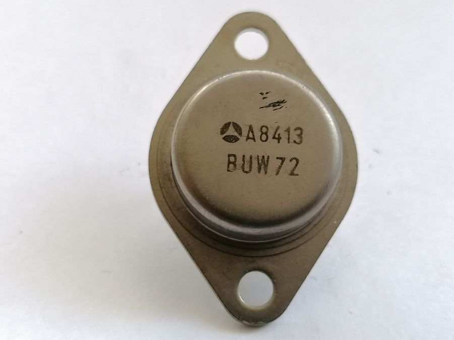 BUW72 10A 400V 100W NPN TO3 P2 DIN