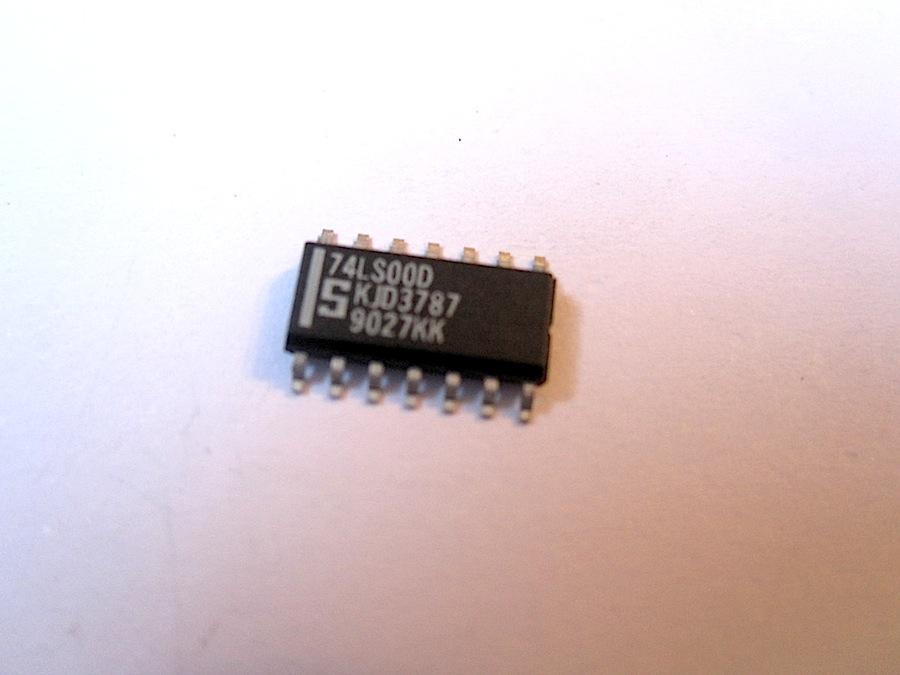 silicon sn74ls00