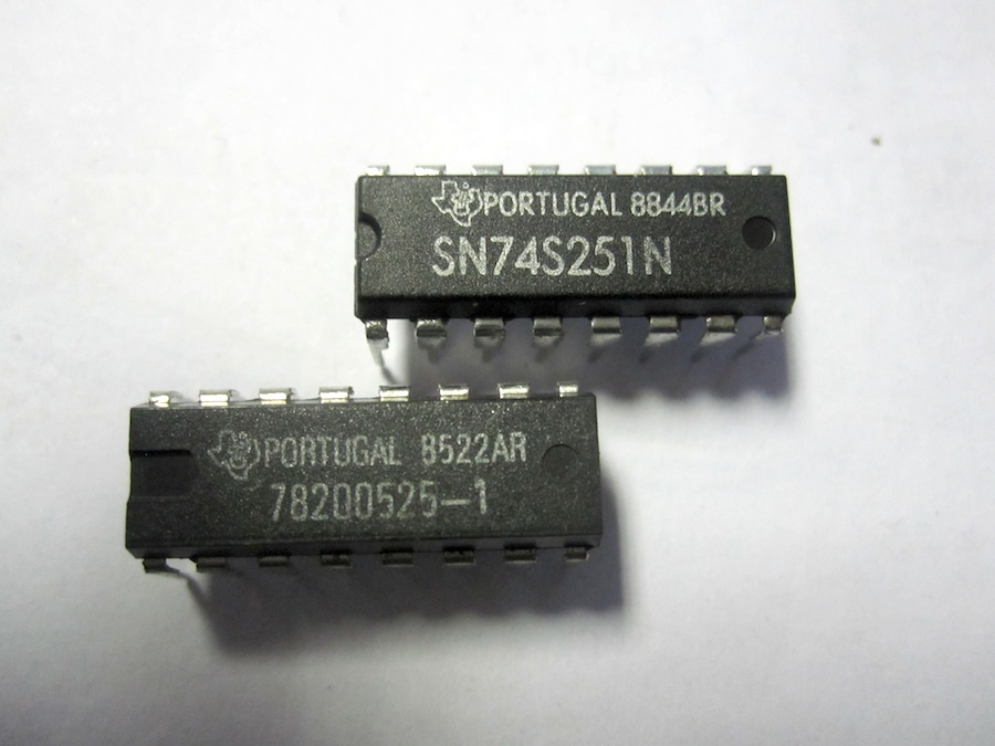 texas instruments sn74s251