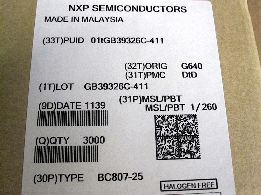 BC807-25-SMD-X3000PEZZI