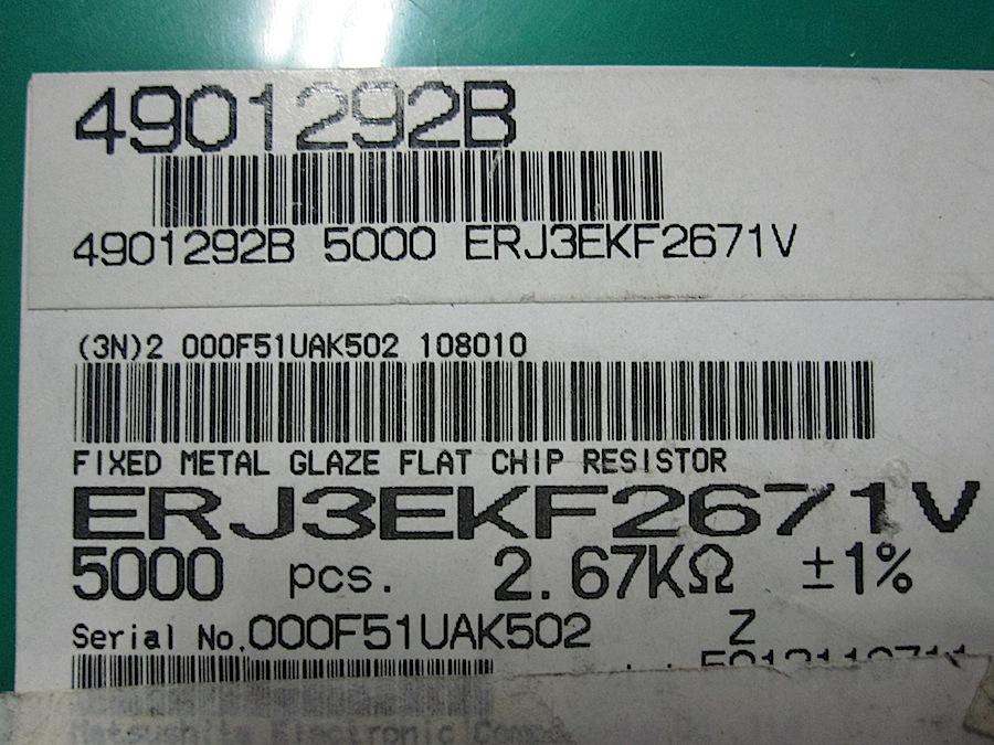 -603-2.67K-1-X5000-PEZZI-MELFI