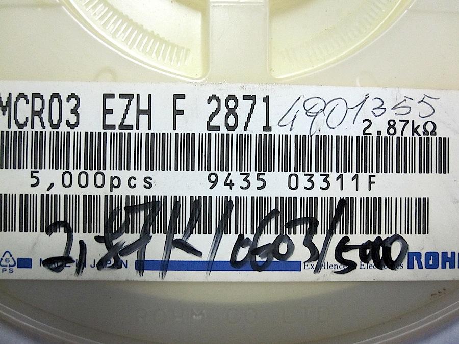 -603-2.87K-1-X10-PEZZI-MELFI