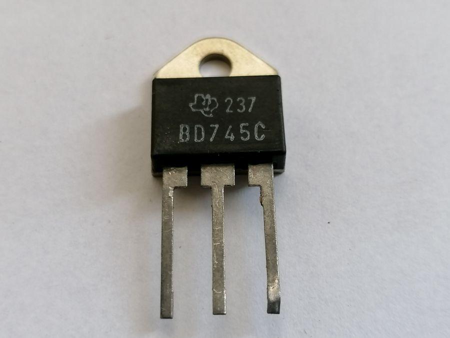 BD745-C-20A-100V-NPN-120W-TO3P-P3-DIN-X10-PEZZI-