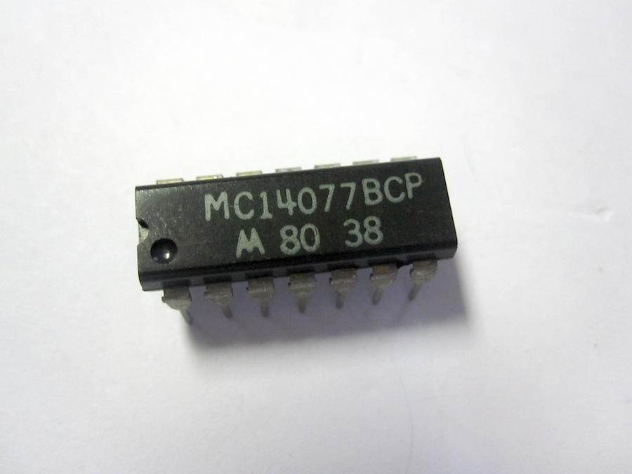 motorola mc14077bcp