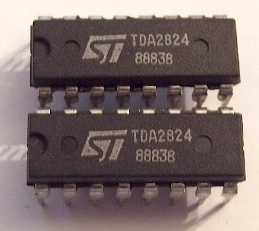 stmicroelectronics tda2824