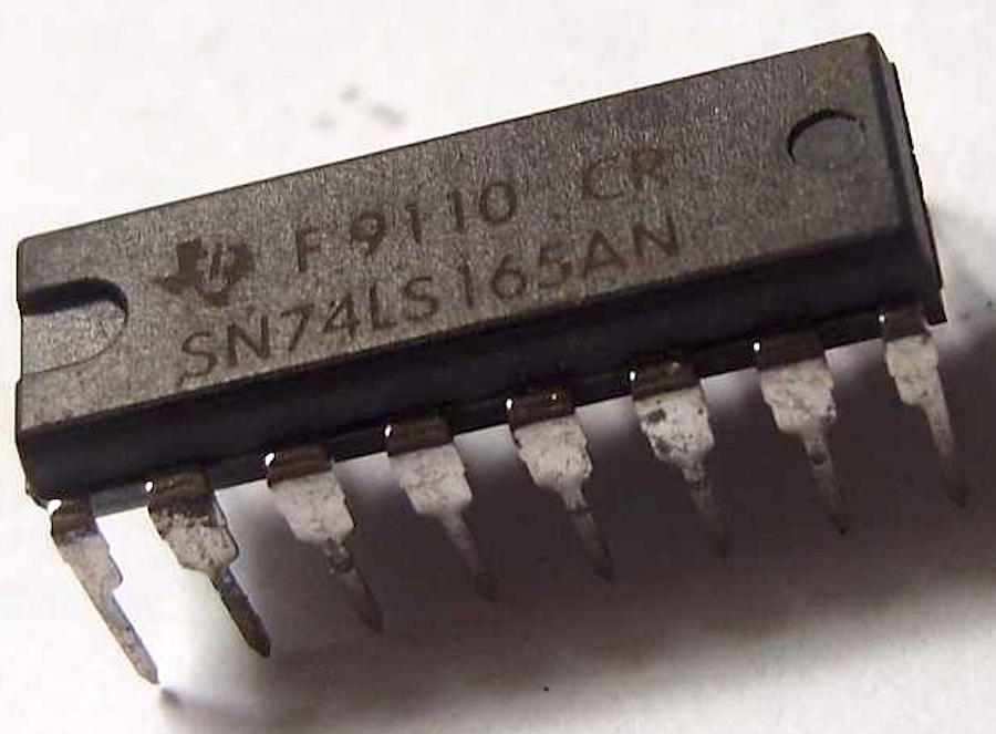 texas instruments sn74ls165