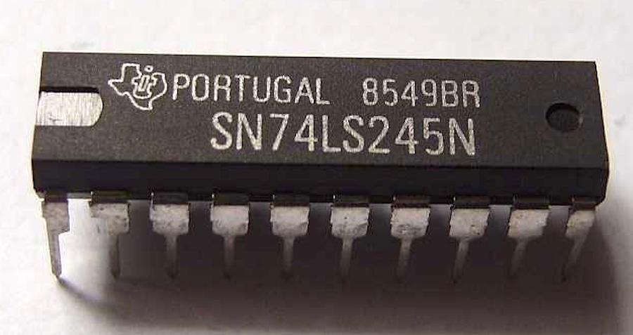 texas instruments sn74ls245